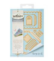 Spellbinders® Shapeabilities® Etched Die-Build A House, , hi-res