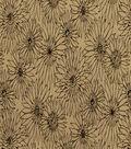 Home Decor 8\u0022x8\u0022 Fabric Swatch-Robert Allen Fleur Flocked Kohl Fabric