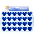 Wilton Silicone Mold-Heart 1.5\u0022X1.75\u0022X.75\u0022 24 Cavity