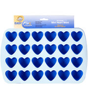 "Wilton® Silicone Mold-Heart 1.5""X1.75""X.75"" 24 Cavity, , hi-res"