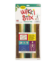 Creativity For Kids Wikki Stix  Assorted Natural, , hi-res