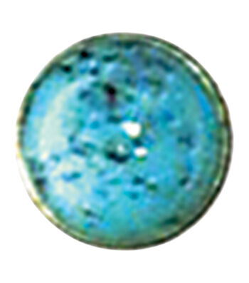 Rivets 10mm 10/Pkg-Synthetic Turquoise