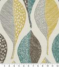 Robert Allen @ Home Upholstery Fabric 55\u0027\u0027-Woodblock Leaf Rain