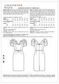Mccall Pattern V1272 Aa (6-8-10-Vogue Pattern