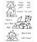 Inky Antics Clear Stamp Set-Cute Cats #1