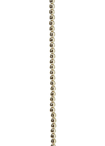 6mm Gold Metallic Pearl Strand, 60 inches long