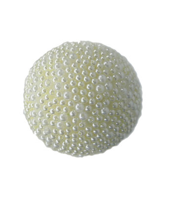 Blooming Holiday Pearl Ball-Faux