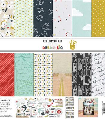 """Fancy Pants Designs Collection Kit 12""""X12""""-Dream Big"""