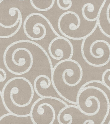 """Better Homes & Gardens Solid Fabric 57""""-Overture Natural"""