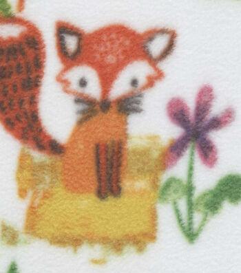 "Anti-Pill Fleece Fabric 59""-Woodland Animals"