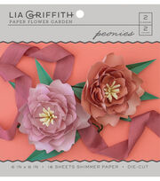 Lia Griffith Paper Flower Garden-Peonies, , hi-res