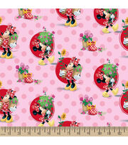"Disney® Minnie Mouse Cotton Fabric 43""-Smell the Flowers, , hi-res"