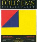 Fold \u0027Ems Origami Two-Sided Solid Paper 5.875\u0022 18/Pkg-