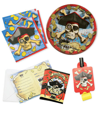 Pirate Bounty Birthday Party Set