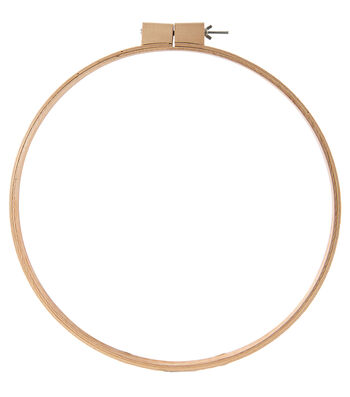 """Wood Quilt Hoop 18""""-3/4"""" Depth"""