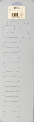 Dritz - Stencil Ribbon Garland 4\u0022 X 14\u0022