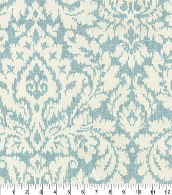 Waverly Upholstery Fabric 54''-Mineral Dashing Damask