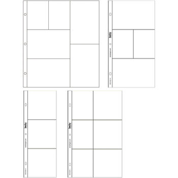 Project Life Photo Pocket Pages 12/Pkg-Small Variety Pack 1