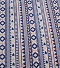 Earth Child Apparel Metallic Jacquard Fabric 57\u0027\u0027-Mini Aztec