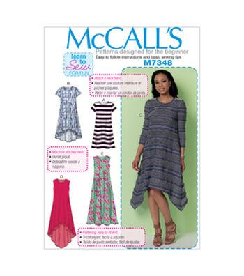 McCall's Misses Dress-M7348