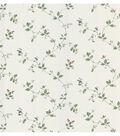 Eva White Floral Trail Wallpaper Sample