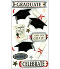Jolee\u0027s Boutique Le Grande Dimensional Stickers-Graduate Celebrate
