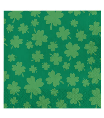 St. Patrick's Day 20 pk Lunch Napkins-Luck of The Irish