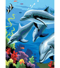 Paint By Number Kit 5X7-Dolphins/Junior