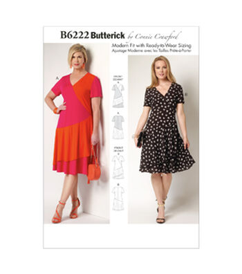 Butterick Women's Dress-B6222