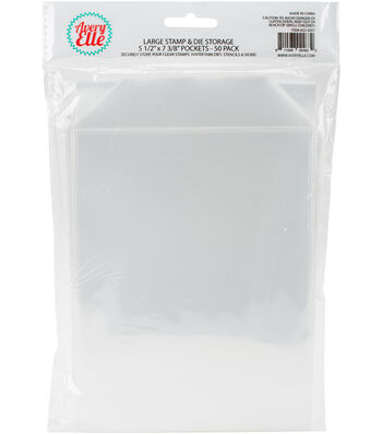 Avery Elle Stamp & Die Large Storage Pockets 50 Pack