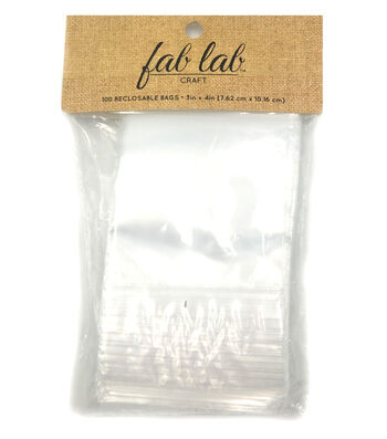 "Reclosable Storage Bags 3""X4""-100/Pkg"