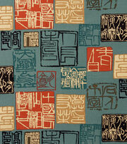 "Alexander Henry Cotton Fabric 44""-Shinto Blue, , hi-res"