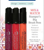 Faber-Castell design-memory-craft Mix & Match Stamper's Big Brush Pen Set of 3-4 Sets , , hi-res