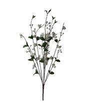 Blooming Holiday Christmas 30'' Berry Spray-White, , hi-res