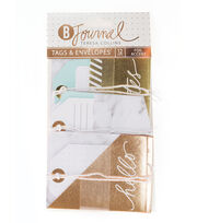 Teresa Collins™ B-Journal Pack of 12 Tags & Envelopes, , hi-res