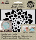 FolkArt® Painting Stencils - Small - Dahlia