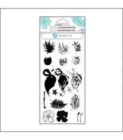 Hampton Art™ Layering Clear Stamp-Tropical, , hi-res