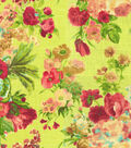 Home Decor 8\u0022x8\u0022 Fabric Swatch-HGTV HOME Garden Odyssey Granny Smith