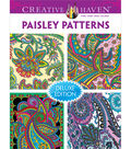 Adult Coloring Book-Creative Haven Paisley Patterns