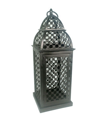Hudson 43™ Candle & Light Collection Bronze Floral Cut Out Large