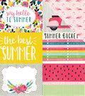 Summer Fun Double-Sided Cardstock 4\u0022X6\u0022 Journaling Cards