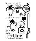 My Sentiments Exactly Clear Stamps 4\u0022X6\u0022 Sheet-Girl Bots