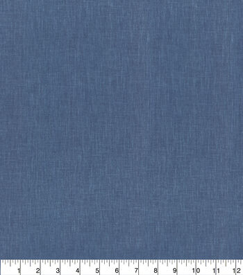 Ellen DeGeneres Solid Fabric 54''-Indigo Marmont