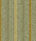 Robert Allen @ Home Upholstery Fabric French Stp RR Jade