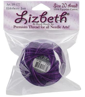 Elderberry Lizbeth Crochet Cotton Thread