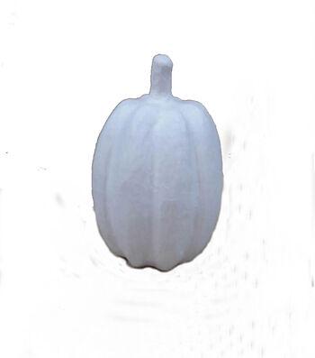 Fab Lab™ Paper Mache Tall Pumpkin-White