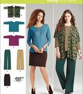 Simplicity Patterns Us1071Bb-Simplicity Miss And Plus Size Knit Sportswear-M-L-Xl-Xxl