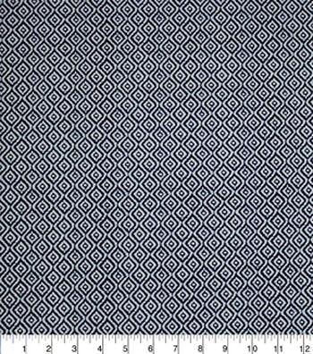 "Home Essentials Print Fabric 45""-Rythym Navy"