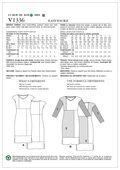 Vogue Patterns Misses Dress-V1336