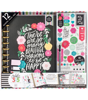 The Happy Planner Box Kit-Flower Pop
